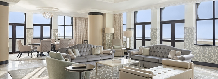 Living Area of King Royal Suite