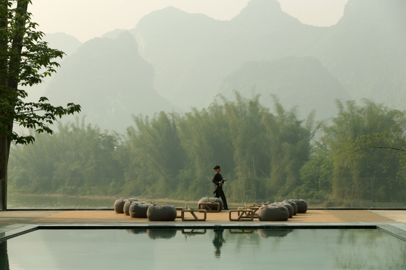 Pictured - Alila Hotels & Resorts most recent property in Asia is a modern, retro resort in Guilin, China opening next month