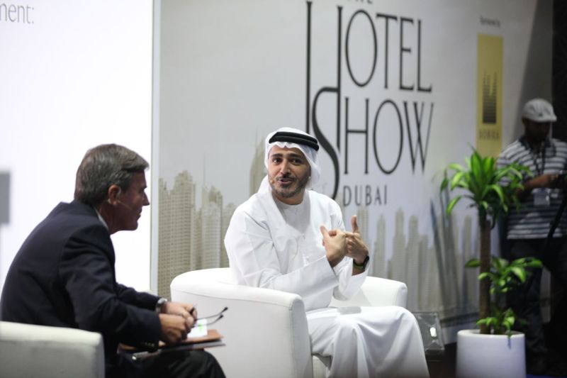 Issam Kazim, CEO, DCTCM at The Hotel Show's The Middle East Hospitality Leadership Forum 2017