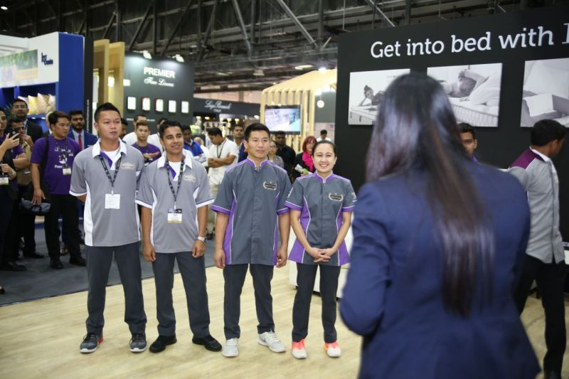 The judges commend the outstanding efforts of the Fairmont Dubai team at The Middle East Houskeepers League of Champions