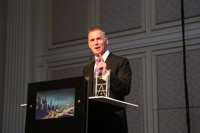 Gary Rhodes OBE - speech at MEHA Lifetime Achievement Award