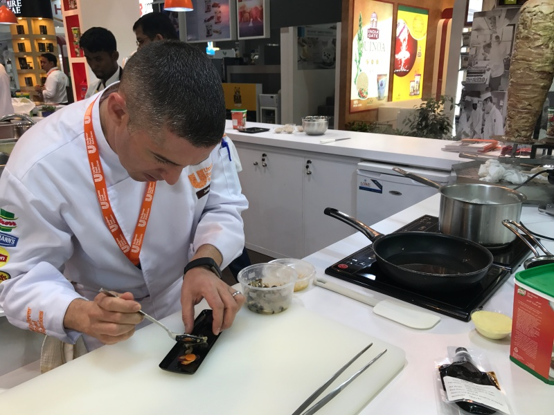 Chef Jean Van Der Westhuizen, Executive Chef, will be cooking up a storm at the Unilever stand at The Hotel Show in Jeddah