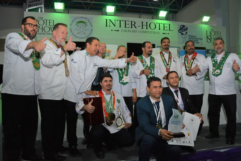 فندق أبراج لو ميريديان مكة يتوج بطلاً في مسابقة الطهي بين الفنادق لعام ٢٠١٨